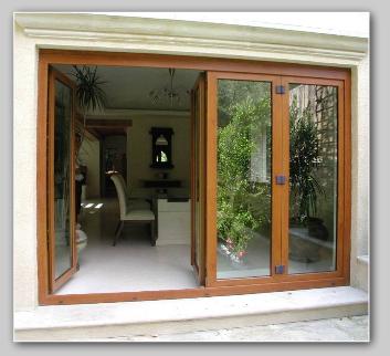 Pvc transforma puertas y ventanas - Puertas plegables exterior ...